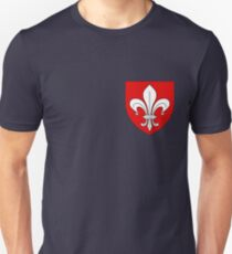 Lille coat of arms, France Unisex T-Shirt