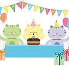 Happy Cat Birthday! by julianamotzko