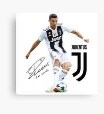 Ronaldo-Juventus-2018 Canvas Print