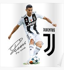 Póster Ronaldo-Juventus-2018