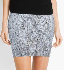 Abstract Ice Texture Mini Skirt