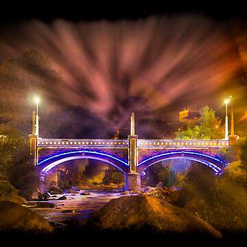 Puente Mariano Morena, Cuenca, Ecuador by alabca
