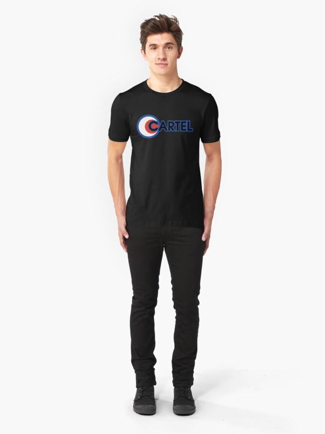 Vista alternativa de Camiseta ajustada Cartel