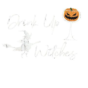 Halloween Distressed Drink Up Witches  by UrbanTailsGear