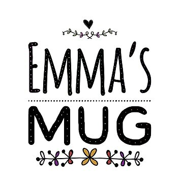 Emma's mug by CharlyB