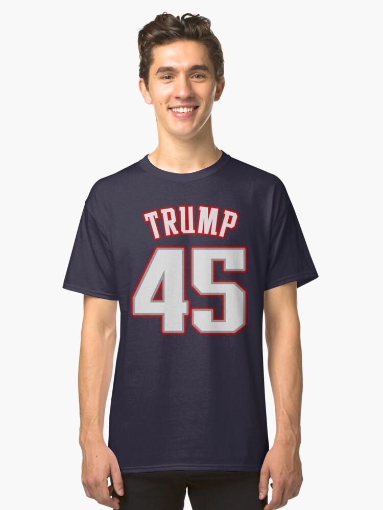 TRUMP 45 Classic T-Shirt Front
