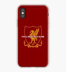 You'll Never Walk Alone Alternate Left Crest T-shirt Design iPhone Case