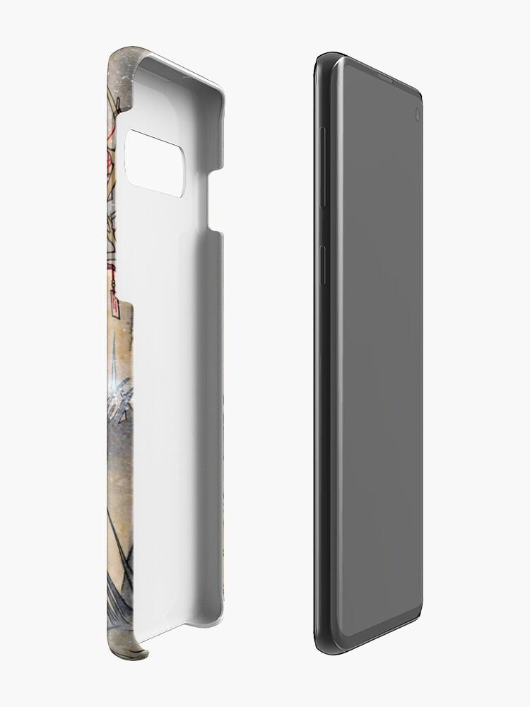 Alternative Ansicht von Der Wunsch - Kitsune Fox Deer Yokai Hüllen & Klebefolien für Samsung Galaxy