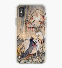 The Wish - Kitsune Fox Deer Yokai iPhone Case