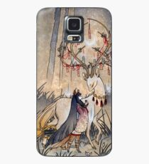 The Wish - Kitsune Fox Deer Yokai Case/Skin for Samsung Galaxy