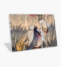 The Wish - Kitsune Fox Deer Yokai Laptop Skin