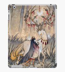 Der Wunsch - Kitsune Fox Deer Yokai iPad-Hülle & Klebefolie