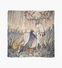 The Wish - Kitsune Fox Deer Yokai Scarf