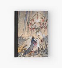 The Wish - Kitsune Fox Deer Yokai Hardcover Journal
