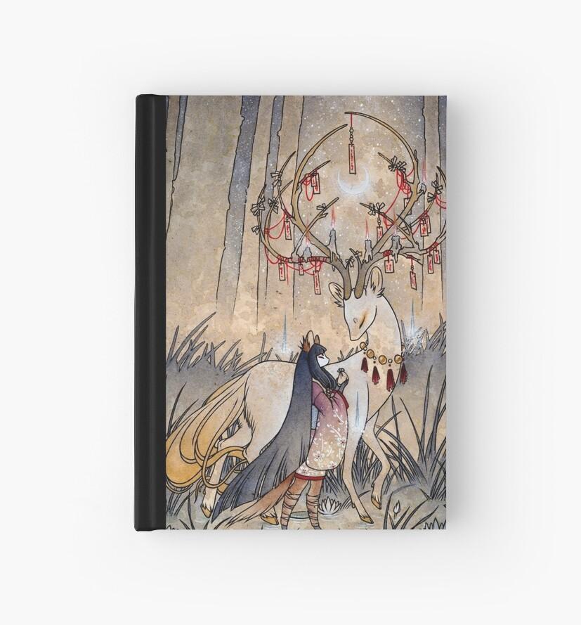 «El deseo - Kitsune Fox Deer Yokai» de TeaKitsune
