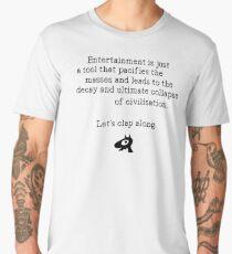 Decay of Civilisation, Let's Clap Along Men's Premium T-Shirt
