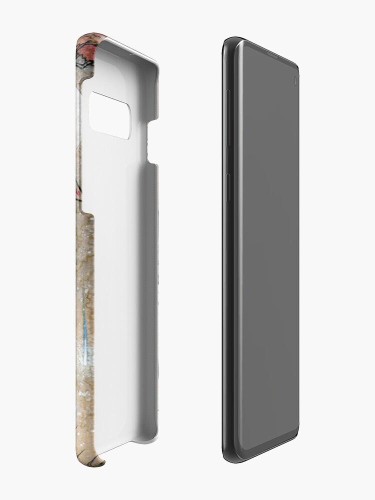 Alternate view of Fox & Wisps - Kitsune Yokai Foxfire  Case & Skin for Samsung Galaxy