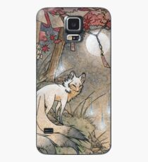 Fox & Wisps - Kitsune Yokai Foxfire  Case/Skin for Samsung Galaxy