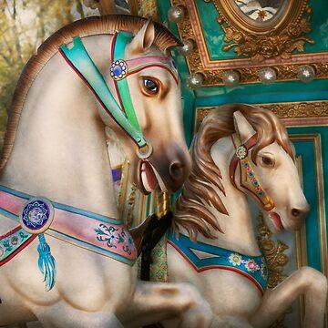 Americana - Carousel beauties by mikesavad
