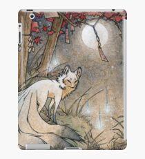 Fox & Wisps - Kitsune Yokai Fuchsfeuer iPad-Hülle & Klebefolie