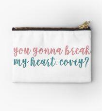 Willst du mir das Herz brechen, Covey? - an alle Jungs, die ich vorher geliebt habe Täschchen