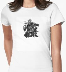 aussie outlaw  Women's Fitted T-Shirt