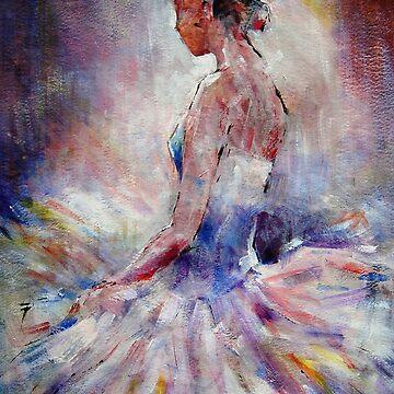 Ballet Dancer Contemplating by ballet-dance