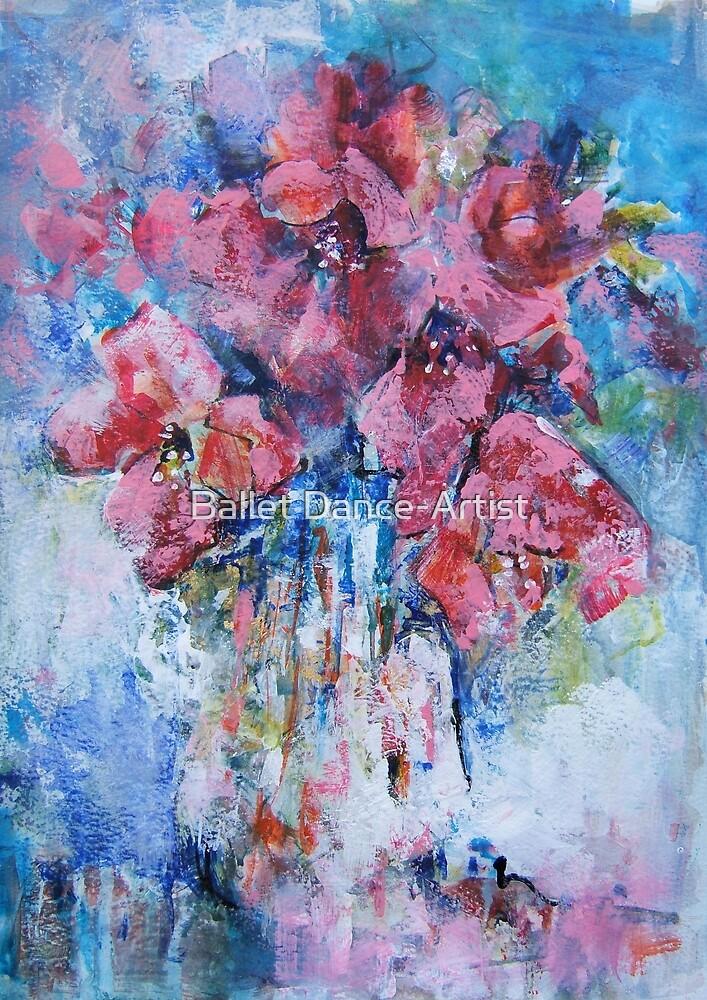 Art Gallery 15 - Flowers by Ballet Dance-Artist