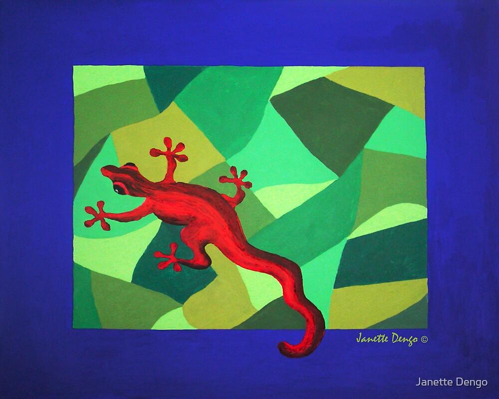 RED LIZARD by Janette Dengo
