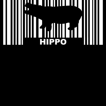 Hippo barcode by S-p-a-c-e