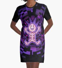 Spirit Conducting Graphic T-Shirt Dress