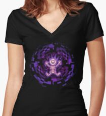 Spirit Conducting Women's Fitted V-Neck T-Shirt