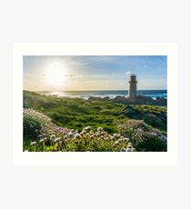 Lighthouse in Muxia Art Print