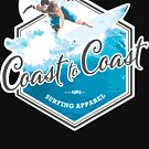Surfing – Coast to Coast by GraphicAlchemy