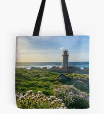 Lighthouse in Muxia Tote Bag