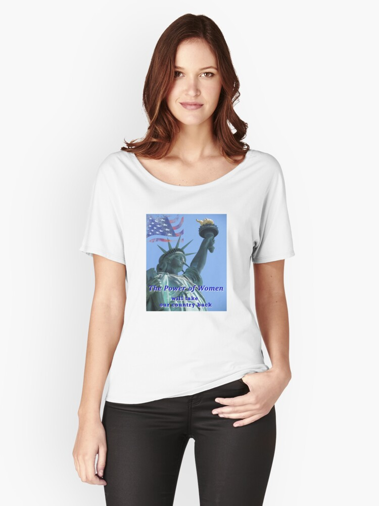 The Power of Women Women's Relaxed Fit T-Shirt Front