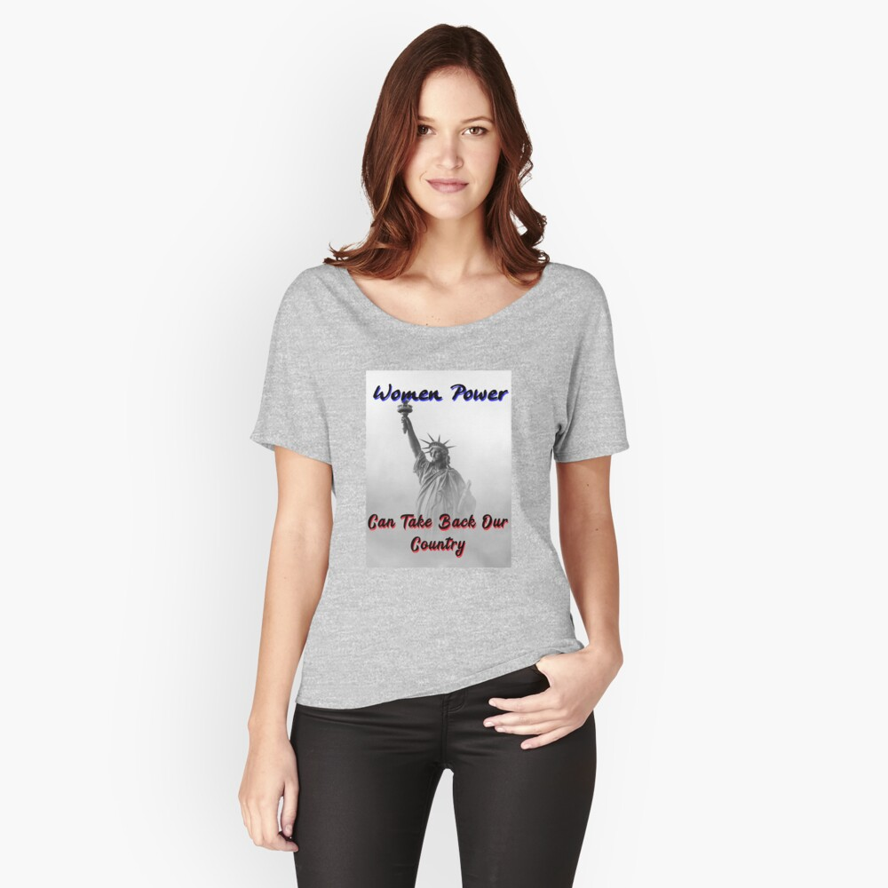 The Omnipotence of The Women's Vote T-Shirt Women's Relaxed Fit T-Shirt Front
