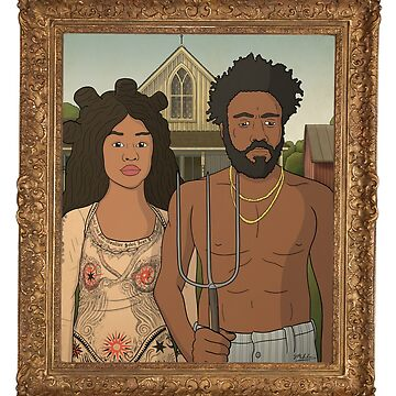 This is American Gothic by PoorlyDrawn