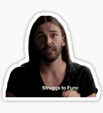 struggs to func Sticker