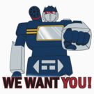 Transformers - We Want You - Decepticons by DGArt