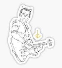 GHOST - Guitar ghoul!  Sticker