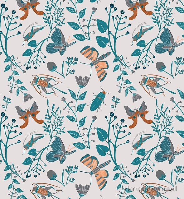 Frolicking Moths and Insects by Harmonycornwell