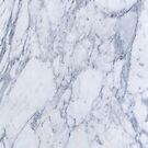 White And Gray Marble Stone Pattern by artonwear