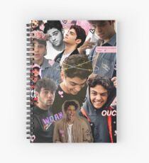 Noah Centineo Collage  Spiral Notebook