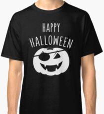 pumkin pirate happy halloween Classic T-Shirt