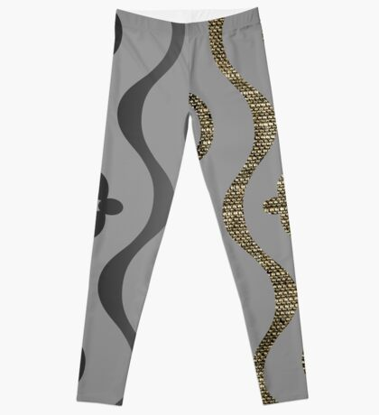 A Sexy Curve in Textures and Dimensions Leggings