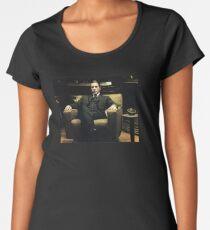 Camiseta premium para mujer El padrino - Al Pacino