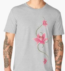 Star Gazing Lilies Men's Premium T-Shirt