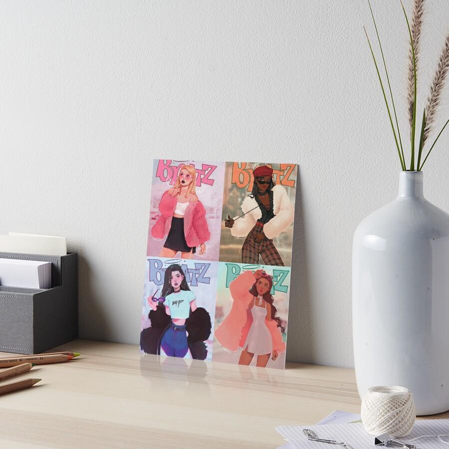 Bratz Art Board Print