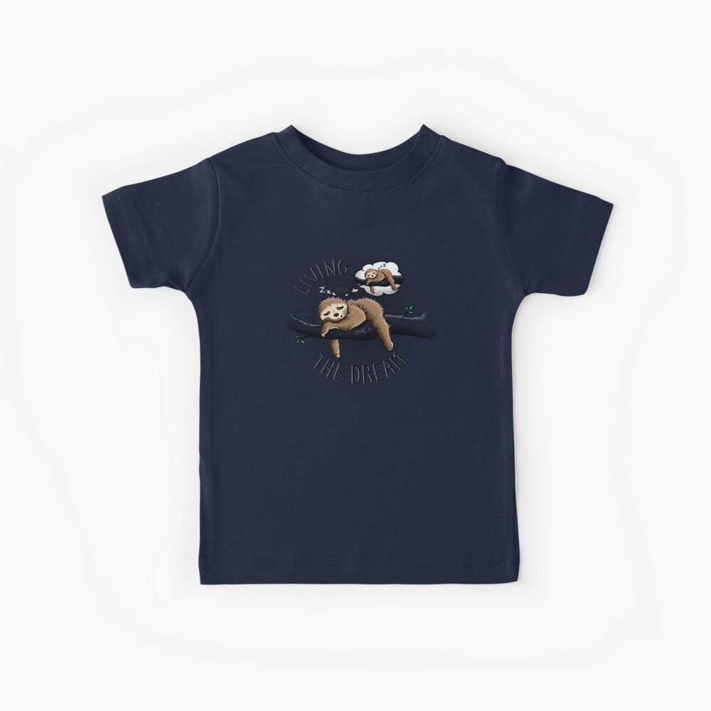 Den Traum leben Kinder T-Shirt